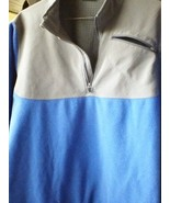 NIKE 1/4 ZIPPER track POLYESTER And fleece JACKET MULTI-COLOR LARGE - $20.57