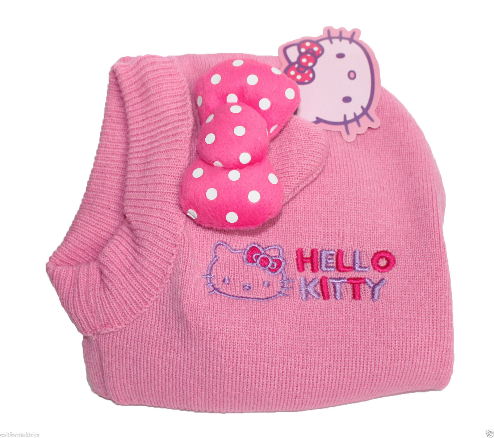 Knitting Games Hello Kitty : Sanrio hello kitty toddler knit balaclava one size fits
