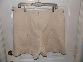 Ralph Lauren Polo J EAN S Light Tan Shorts Size 16Women's Euc - $44.99