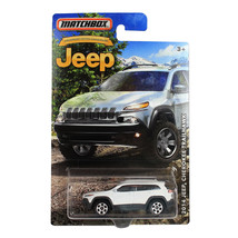 NEW Matchbox Anniversary White 2014 JEEP Grand Cherokee Trailhawk Diecas... - €12,79 EUR
