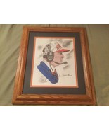 Donald Williams Signed Art Print Auburn Football Coach  Numbered 443 - £22.08 GBP