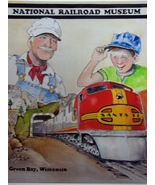 Green Bay National Railroad  Museum Membership Print 2015 - Steve Krueger - $11.00