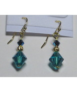 Swarovski earrings: Simply elegant Incolite and jet earrings - $6.00