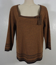 Emma James Liz Claiborne Sweater Shirt Casual, Church, Work, Career Medium - $13.95
