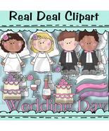 Wedding Littles Clipart - $1.25