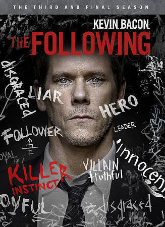 The Following: Complete Third Season (DVD, 2015, 4-Disc Set) New TV Series