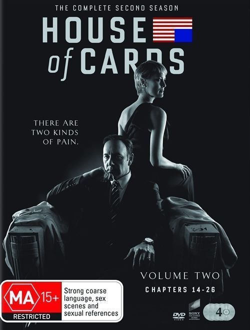 House of Cards: The Complete Second Season 2 (DVD Set)  TV Series