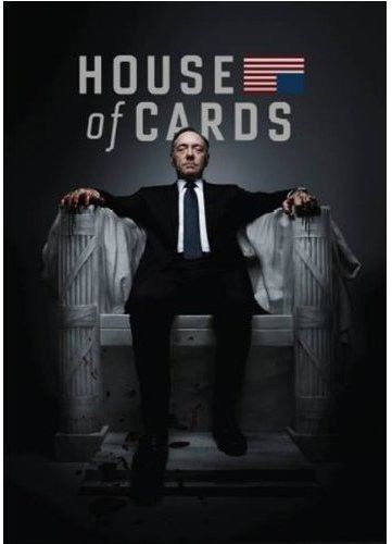 House of Cards: The Complete First Season 1 (DVD 2013, 4-Disc Set) New TV Series