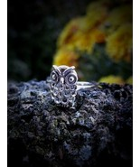 Spellbinding Isle of Skye Spell Cast Owl Ring Magick Wisdom Insight Haunted - $47.99
