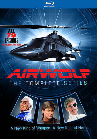 Airwolf: The Complete Series (Blu-ray Disc, 2016, 14-Disc Set) TV Series New