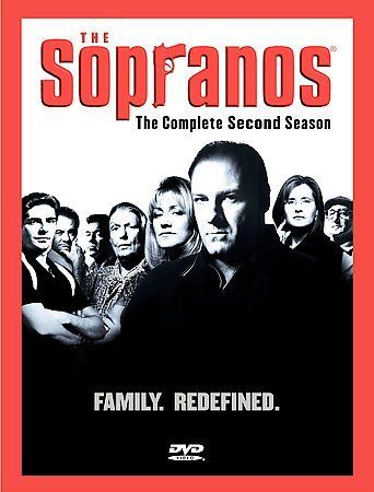 The Sopranos: The Complete Second Season 2 (DVD Box Set) HBO TV Series New