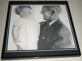 Caroline Kennedy & Joseph Kennedy Framed 11x14 Photo Poster Display - $34.64