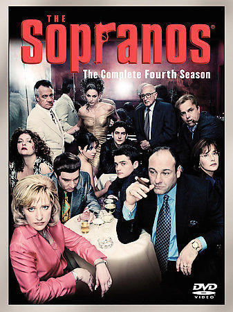 The Sopranos - The Complete Fourth Season (DVD 4-Disc Set) New TV Series