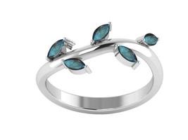 Luster Labradorite 925 Sterling Silver Leaf Women Ring Jewelry Sz 7.5 SH... - £10.75 GBP