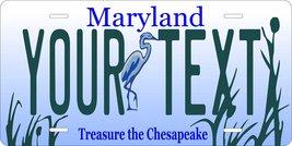 Maryland Bird v2 Personalized Custom Tag Vehicle Car Moped Bike Bicycle ... - $16.75