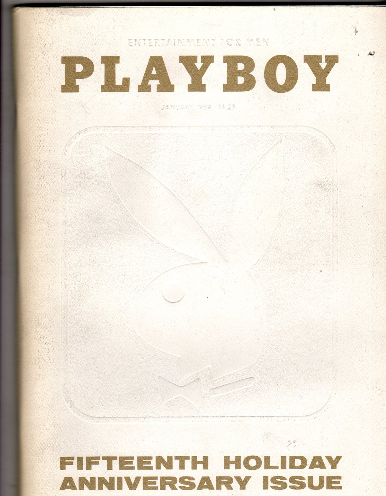 Playboy entertainment for men magazine 15th holiday for Anniversary magazine