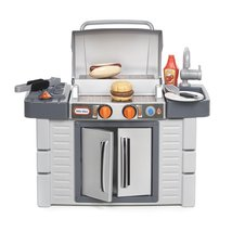Little Tikes Kitchen Cook 'n Grow BBQ Grill Pla... - $68.30
