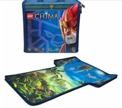 LEGO Ninjago CHIMA Carry Case  transforms from mini figure carry case to... - $9.94