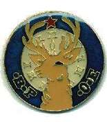 12 Pins - BPOE ELKS LODGE , elk hat lapel pin #662 - $8.00