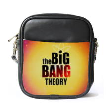 Sling Bag Leather Shoulder Bag The Big Bang Theory Bazinga Cute The Magi... - $14.00