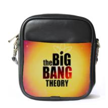 Sling Bag Leather Shoulder Bag The Big Bang Theory Bazinga Cute The Magic Word - $14.00