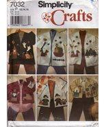 Simplicity Crafts Pattern 7032 - Misses size P 12, 14, 16 - $9.99