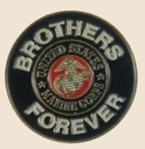 12 Pins - BROTHERS FOREVER MARINE marines usmc pin p453 - $12.00