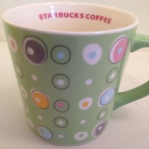 Starbucks Mug 2005 Green Spring Polka Dot Paste... - $49.49