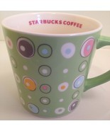 Starbucks Mug 2005 Green Spring Polka Dot Paste... - $49.49