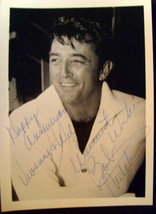 ROBERT MITCHUM (ORIGINAL VINTAGE AUTOGRAPH PHOTO) CLASSIC - $321.75