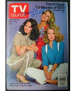 CHERYL LADD (CHARLIE'S ANGELS) ORIGINAL AUTOGRAPHED TV GUIDE - $98.01
