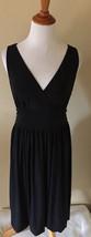 Ann Taylor LOFT Black Sleeveless Empire Waist Dress Sz 10 - $16.82
