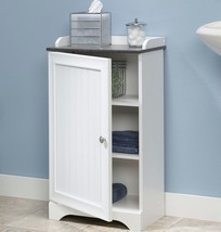 Floor Storage Cabinet Bathroom Organizer Cupboa... - $89.09