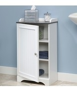 Floor Storage Cabinet Bathroom Organizer Cupboard Shelf Shelves Linen Ba... - $79.95