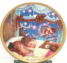 Night Before Christmas Long Winter Nap 175 Anniversary Collector Plate B... - $59.95