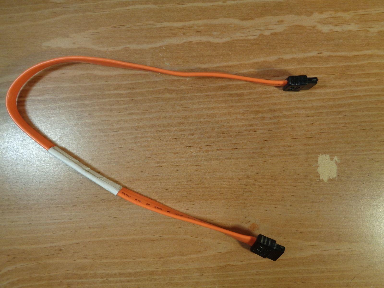 """Dell DC094 14"""" SATA drive cable straight angle - $1.98"""