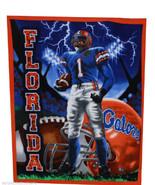 Florida Gators Football Player Fleece Throw Blanket College NCAA FU - $79.95