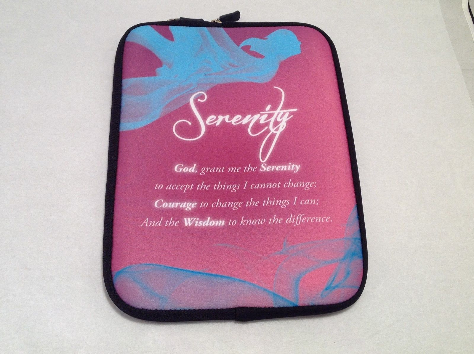 NEW Computer/Tablet Carrying Case w/ Serenity Prayer