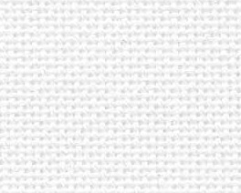 CLEARANCE White Silver Opalescent 36ct evenweave 17x19 cross stitch Fabric Flair