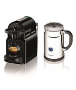 Nespresso Inissia Espresso Maker with Aeroccino Milk Frother - £133.31 GBP