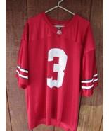Ohio State Buckeyes ATLANTIS TEAM JERSEY #3 Men's Football Jersey MEN'S XL - $22.17