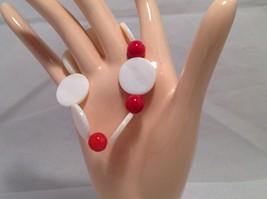 NEW Handmade Red Beaded Bracelet   image 2