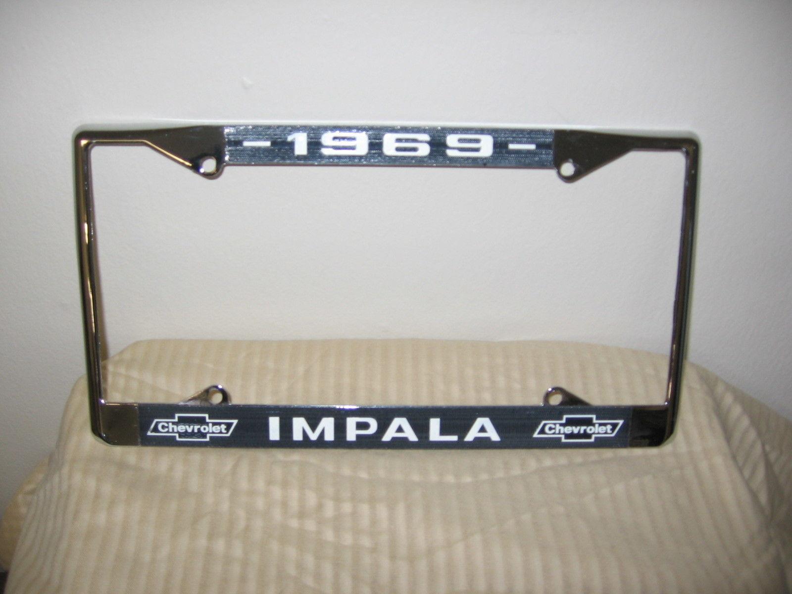 Chevy License Plate Frame: 13 listings