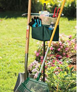 Portable Tool Stand, Garden Tool Rest, Keep Shovels, Rakes, Hoes Upright... - $9.75