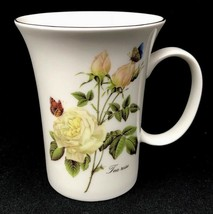 Gracie Bone China Stechol Floral Tea Rose Coffee/Tea Mug Cup Gold Rim NE... - $17.99