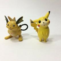 """2 TOMY Nintendo Pokemon Pikachu Mini Figures 2"""" Vintage CGTSJ - $14.99"""