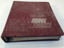1960's Dodge Trucks Specifications Binder D200 D300 C600 C1000 NCT1000 KCT900 - $99.99
