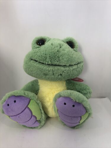 "Primary image for Aurora Easter Item 10"" Croakster Frog Dragonfly Plush Taddle Toes A8"