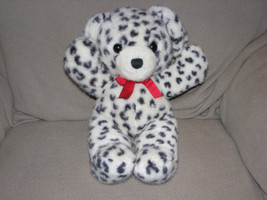 DAKIN STUFFED PLUSH 1989 CUDDLES TEDDY BEAR PUPPY DOG DALMATIAN LEOPARD ... - $96.26