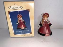 Hallmark Keepsake Ornament Madame Alexander Josephine Jo March #2 In Ser... - $20.00